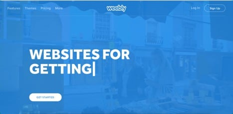 Sites like weebly