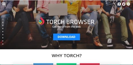 sites like torch browser