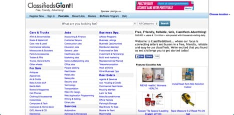 classifieds giant