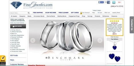 sites like fine jewelers