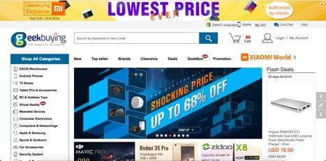 sites like geek buying