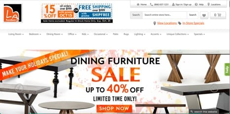 sites like la furniture
