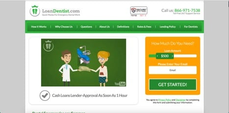 Sites like loan dentist
