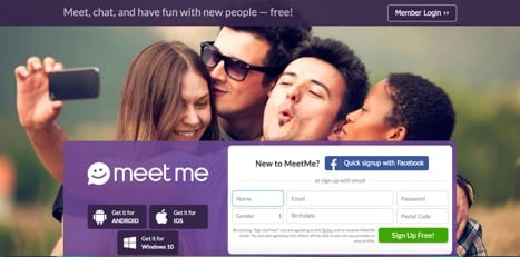 sites like meetme