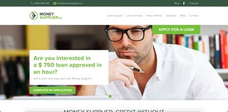 money supplier loans