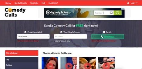 comedy calls