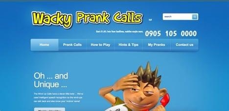 wacky prank calls