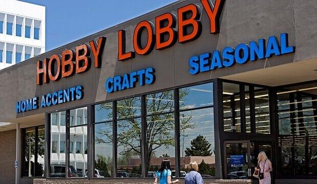 stores like hobby lobby