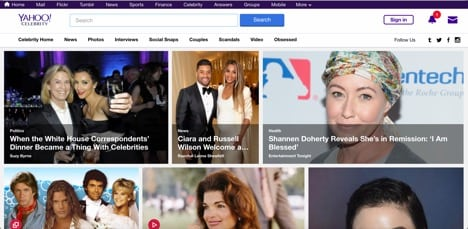 Yahoo! Celebrity