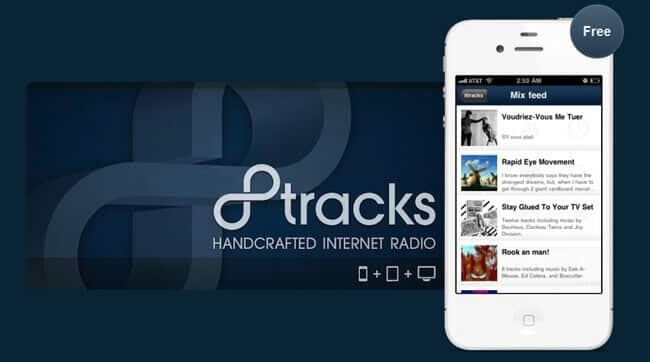 sites like 8tracks