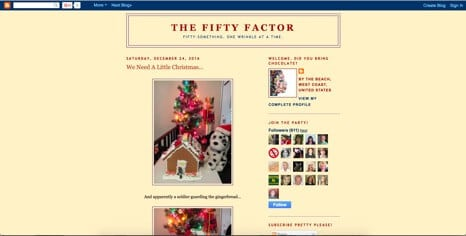 The Fifty Factor