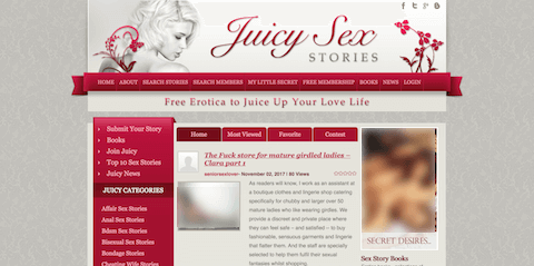 Juicy Sex Stories