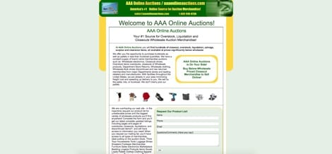 AAA Online Auctions