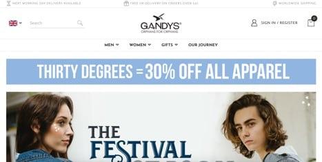 Gandy's Flip Flops