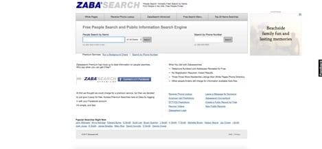 ZabaSearch