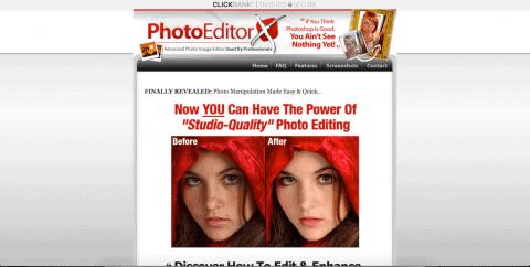 PhotoEditorX