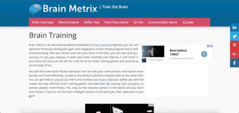 Brain Metrix