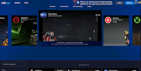 sites like mixer