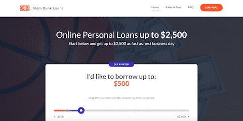 Slam Dunk Loans